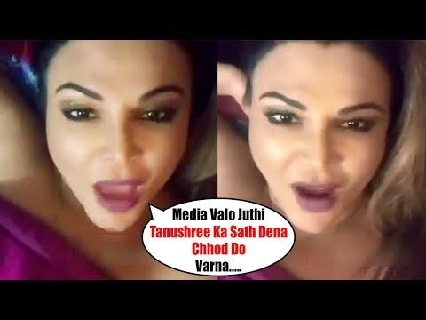 Xxx Mp4 Rakhi Sawant WARNS MEDIA Openaly About Tanushree Dutta Metoo Movement 3gp Sex