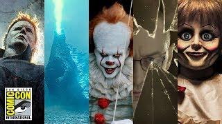 COMIC CON 2018 Horror News Roundup