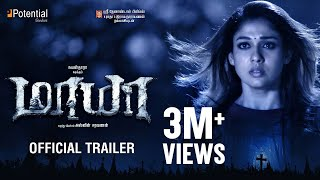 Maya - Official Trailer | Nayanthara, Aari