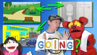 Where Are You Going? Song | Sing with Matt, Tunes, Bell | Park, Supermarket Learn English Kids