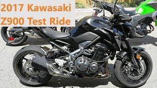 2017 Kawasaki Z900 Test Ride