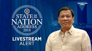 WATCH: President Duterte delivers 3rd SONA | 23 July 2018