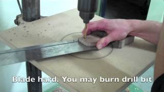 Dovetail saw handle remodel.mov
