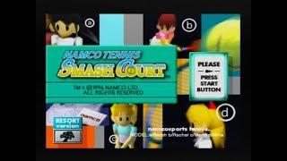 Gameplay Ps1 - Namco Tennis Smash Court PAL (1996)