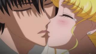 All the kisses between Usagi/Serenity & Mamoru/Endymion アニメ ・ 美少女戦士セーラームーンクリスタル