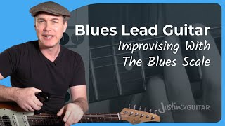 The Minor Pentatonic Pattern 1 For Blues - Essential Blues Guitar Lessons - Lead Guitar