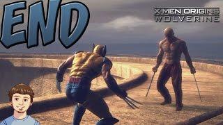 X-Men Origins: Wolverine - ENDING - Wolverine Vs Deadpool (The Crappy Version)