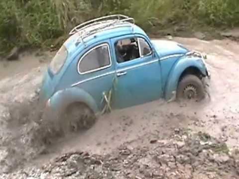 Fusca baja buggy trilha Candelaria 2012