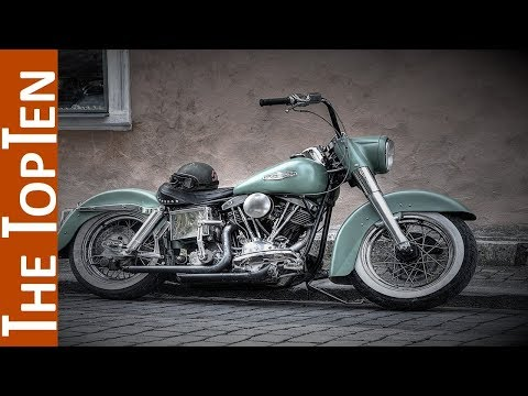 The Top Ten Harley-Davidsons of All Time