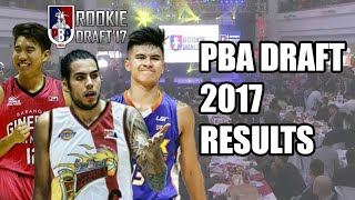 PBA Draft 2017 Results | 1st Round (Player Highlights)