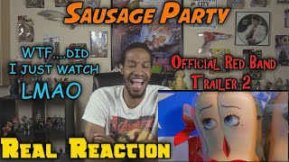 Sausage Party Official Red Band Trailer 2....Real Reaction