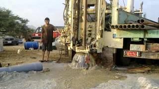 حفر أبار ارتوازية