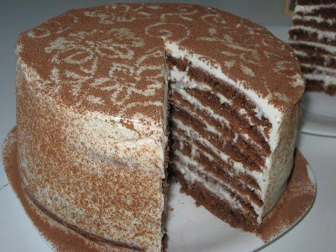 фоторецепты быстрого шоколадного торта
