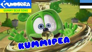 Kummipea ~ Gummy Bear Estonian Song ~ Versão Estoniana