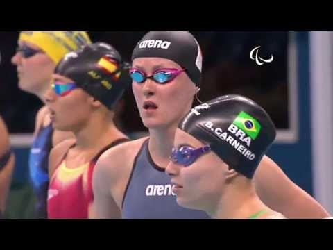 Swimming | Women's 100m Breaststroke - SB14 Heat 2 | Rio 2016 Paralympic Games