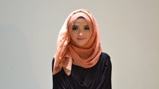 Hijab Tutorial Style 56 by Puteri Hasanah Karunia