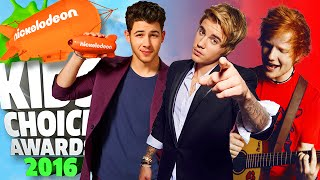Kids Choice Awards 2016 | Nominees for Favorite Male Singer
