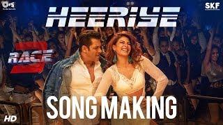 Heeriye Song Making - Race 3 Behind the Scenes   Salman Khan, Jacqueline Fernandez   Remo D