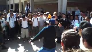 Dubstep and Dougie battle at mesa high!