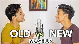 OLD vs NEW Bollywood Songs (Mashup by Aksh Baghla)