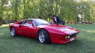 Ferrari 288 GTO lovely sound! Combo with 599 GTO and Enzo!