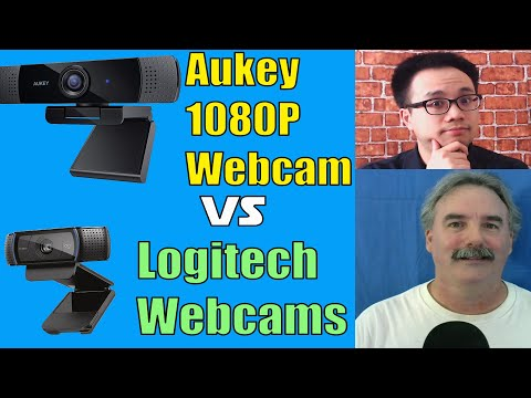 Aukey vs Logitech Which One Is Better Webcam Reviews 2020