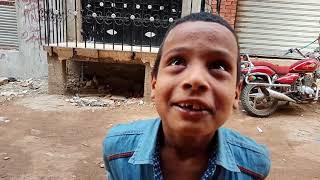 الطفل حلاطه يعلم الاطفال التشرد الاطفالي والصياعه ادب كوميدي تصوير يوسف كابو