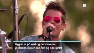 Plumbo på Allsang på Grensen 2014 -