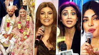 Bollywood Celebs Best Wishes For Virat Kohli Anushka Sharma Wedding/Marriage