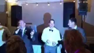 """Uncle lip syncs """"The Closing Song"""" at nephew's wedding"""