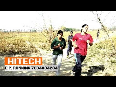 Hitech Running video Delhi police Physical test Girls 7834834234  march 3  girls video