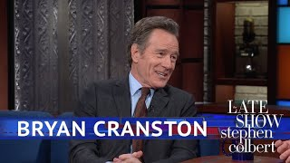 Bryan Cranston Plays With His Real