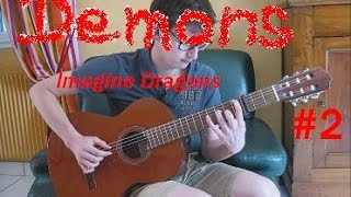 Demons - (Imagine Dragons) - Fingerstyle Guitar Cover #2