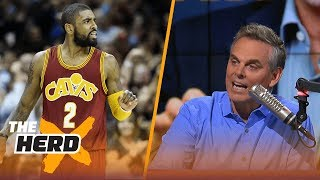 Is Derrick Rose enough to get LeBron and the Cavs to the Finals if Kyrie Irving leaves? | THE HERD