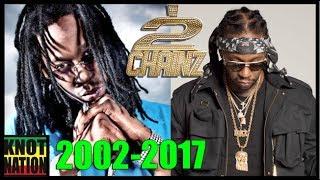 Evolution of 2 Chainz Dreads