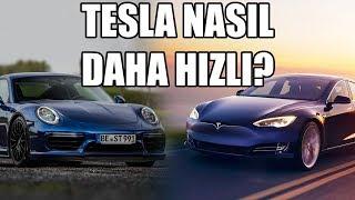Elektrikli Araba ile 2.28 sn'de 0-100 Yapmak | Tesla Model S P100D