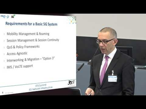 ETSI 5G SUMMIT 2017, Georg Mayer, 3GPP CT Chair