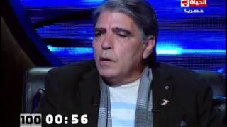 """100 سؤال - الفنان محمود الجندي """" لماذا شاركت فى فيلم """"قدرات غير عادية رغم وجود مشاهد جريئة؟"""""""