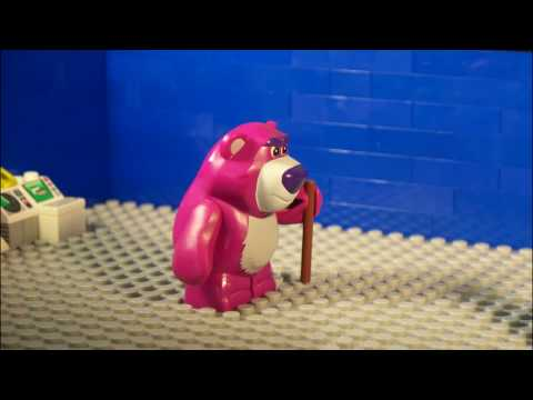 Toy Story 3 Boba Fett Pisses Off Lotso Huggin Bear 2010 Stop Motion