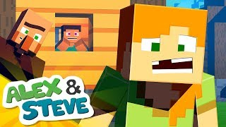 ✨ THE TOOTH FAIRY ISN'T REAL?!   The Minecraft Life of Alex & Steve   Minecraft Animation