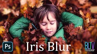 Photoshop QUICK Tip: Selective Focus for Photos