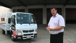 Mitsubishi Fuso Canter 515 narrow cab truck video review - NewTruckSearch.com.au