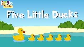 Five Little Ducks | Nursery Rhymes