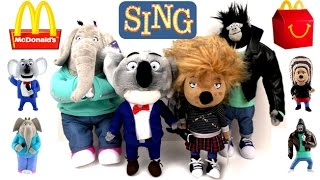 2016 SING MOVIE PLUSH McDONALD