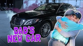 BOUGHT DAD HIS DREAM CAR!!