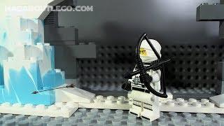 LEGO NINJAGO ICE TANK Stop motion