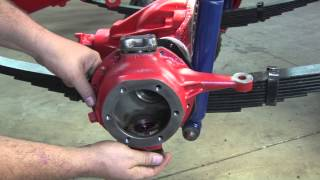 CJ-5 Restoration: Steering Knuckle Install