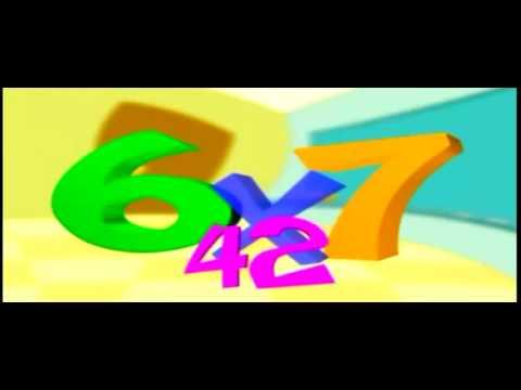 Cancion Tablas de Multiplicar 2 3 4 5 6 7 8 y 9