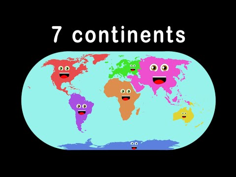 7 Continents Song for Children