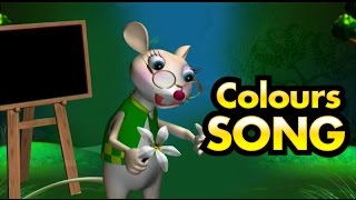 Manchadi Colours Song | (Manjadi) Malayalam Nursey song | Kids Cartoon | animated